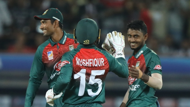 For Bangladesh, leg-spinner Aminul Islam has taken four wickets so in the 2 T20Is.