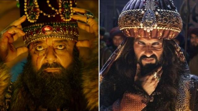 Sanjay Dutt as Ahmad Shah Abdali and Ranveer Singh as Alauddin Khilji.