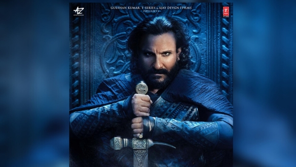 Saif Ali Khan in a poster from <i>Tanhaji: The Unsung Warrior</i>.
