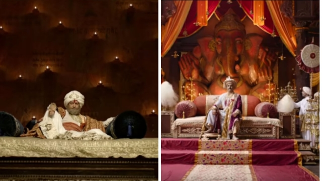 The darbar scenes in <i>Bajirao Mastani </i>and <i>Panipat </i>have been similarly staged.