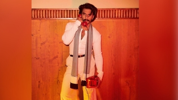 Ranveer Singh makes a style statement yet again.