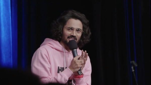 YouTuber Bhuvan Bam tries his had at stand-up on <i>One Mic Stand.</i>