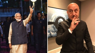 Anupam Kher shares his views on PM Modi, Delhi's CM and Article 370.