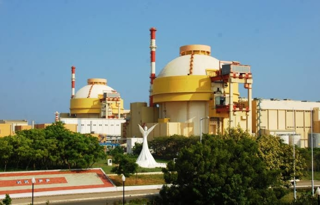 A file image of the Kudankulam Nuclear Power Plant in Tamil nadu.