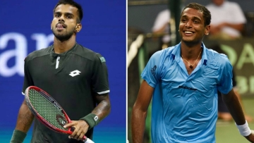 With both Sumit Nagal (left) and Ramkumar Ramanathan now available, India will have its best singles players taking on Pakistan.