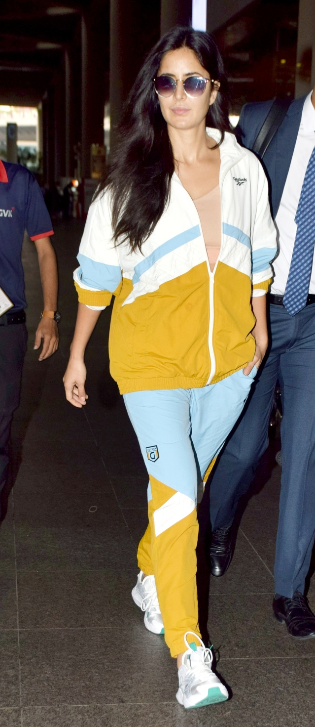 Katrina Kaif spotted at the airport.