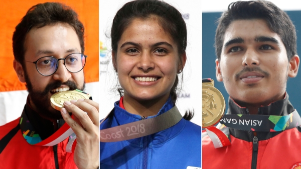 Abhishek Verma, Manu Bhaker and Saurabh Chaudhary are among the 15 shooters who booked Olympic quotas for India.