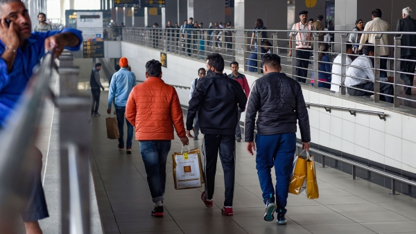 Shattered American Dream: 150 Deportees Return to India from US