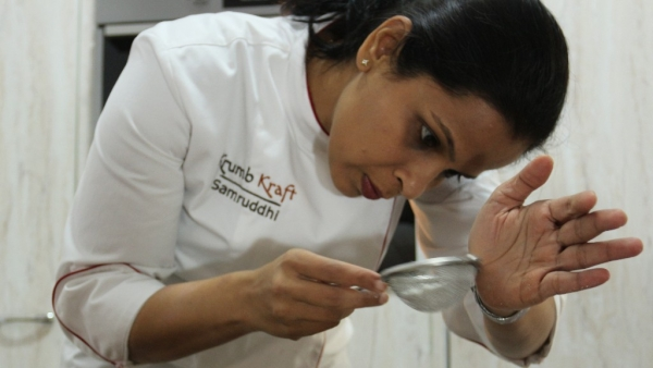 Samruddhi Nayak is a home baker who experiments with her recipes as part of the venture KrumbKraft in Bengaluru.