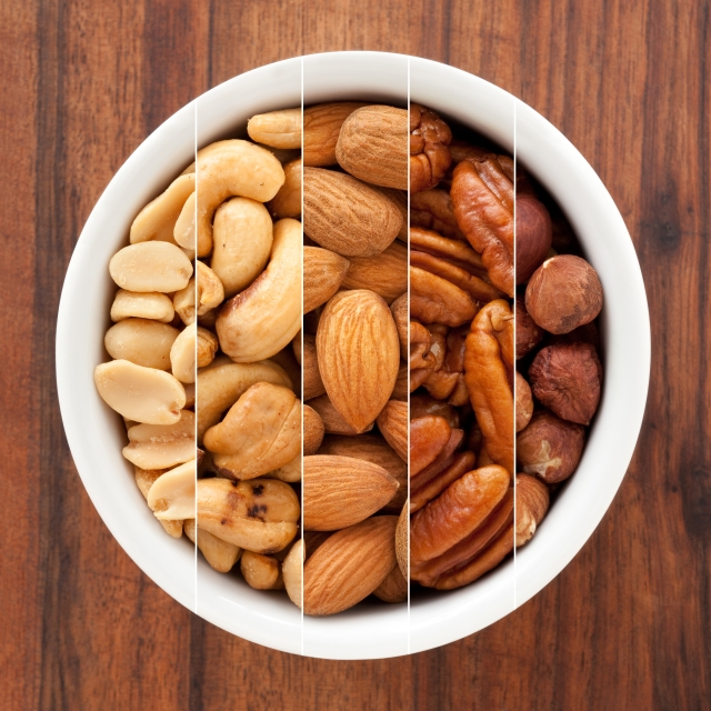 The fat and fibre in nuts can be your secret weapon to avoid overeating at a party.