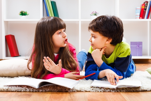 Sharing makes kids understand a different aspect of happiness.