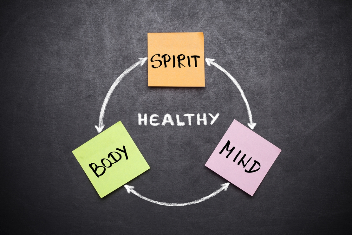 While integrating mind-body health forms the core of Ayurveda and other health systems, it is the Western medicine system that views them separately.