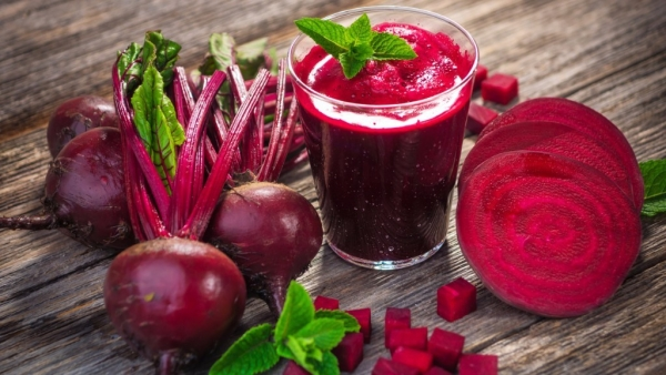 Beetroots are great for health.