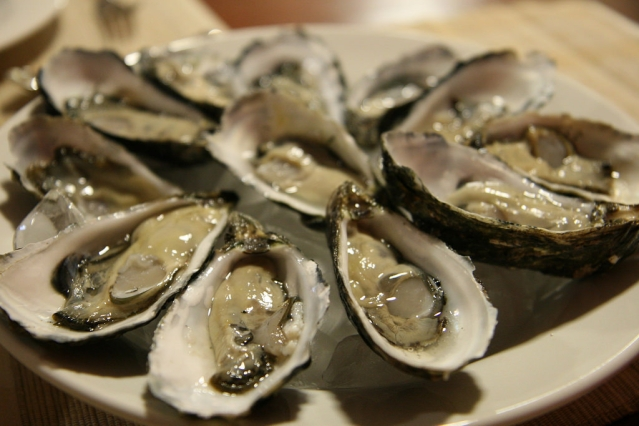 Oysters have zinc which is vital to boost testosterone.