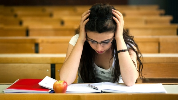 Here's how you can tackle exam stress.