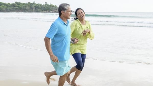 Staying physically active, eating a healthy diet and making smart lifestyle changes are some of the ways to avoid the age-related health risks.