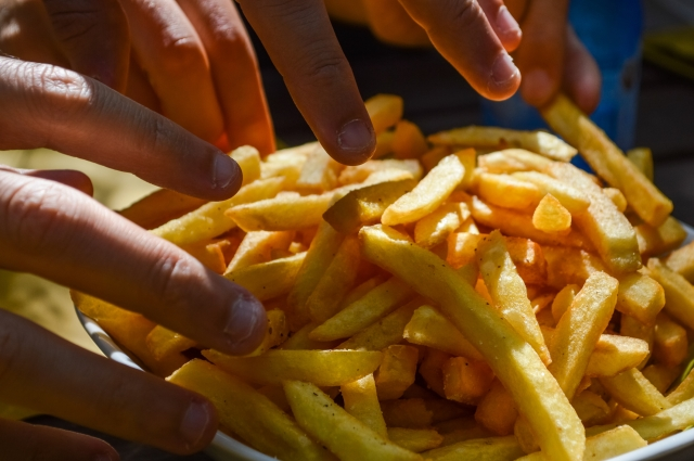 Order the smallest size of fries or split them with a friend!