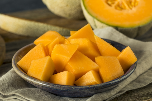 Muskmelons have vitamin C that boosts immunity.