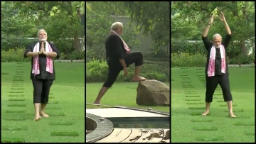 Wondering how PM Modi stays fit? He uses the five natural elements in his morning routine. Check it out here.