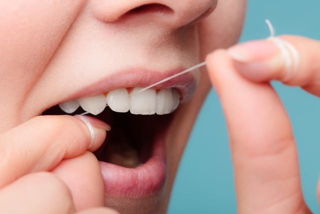 Even more important than brushing your teeth is to floss your teeth.