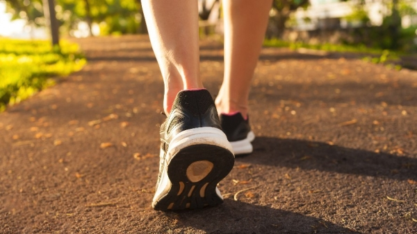 Walking is a low impact exercise.