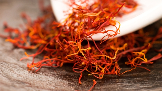 A pinch of saffron for that adding sexual flavour.