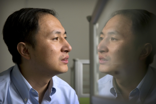 Chinese scientist he claims he helped make world's first genetically edited babies: twin girls whose DNA he said he altered.