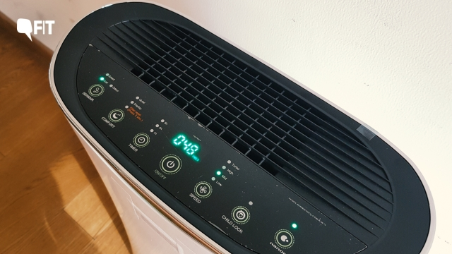 Your air purifier cannot control carbon dioxide levels.