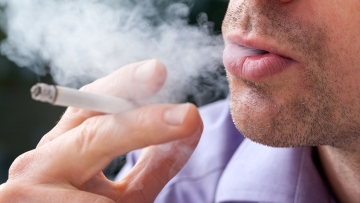 Passive smoking is just as dangerous for your health