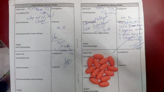 Stock-out of HIV drugs is quite frequent in the capital city of Delhi.