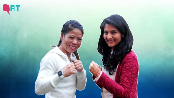 Mary Kom is a six-time world champion.
