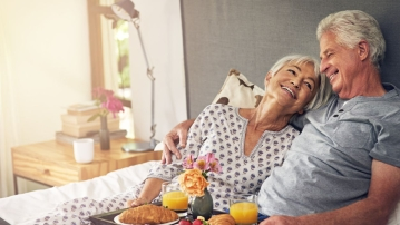 Sexual activity is a strong indicator of healthy aging and vitality.