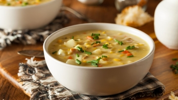 Chicken soup offers delicious flavor as well as many health benefits.