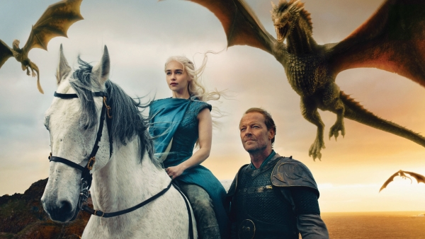 A still from <i>Game of Thrones</i>.