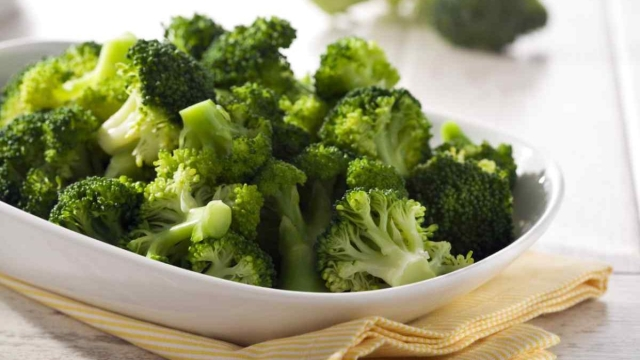 Food items like broccoli and carrots have a fat-burning advantage.