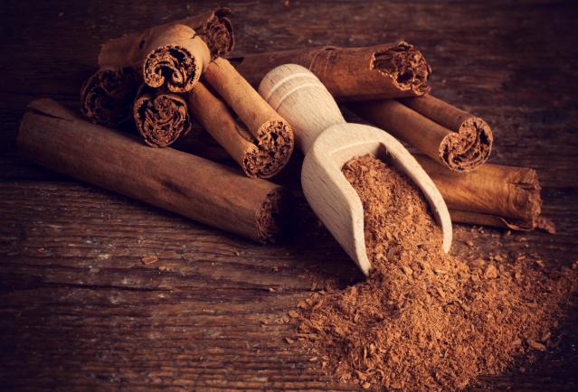 Cinnamon helps keep glucose in control.
