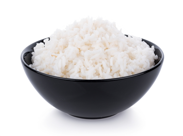 Have rice in the night!