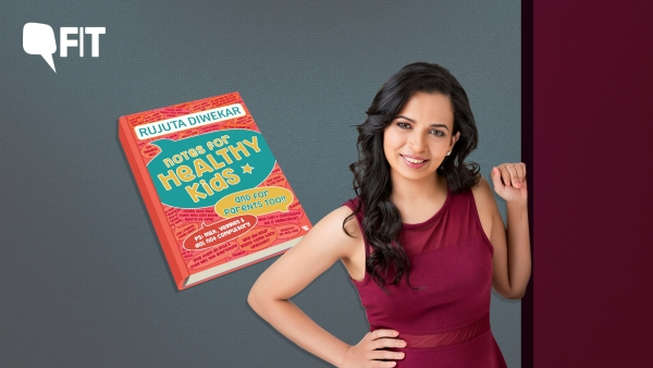 Celebrity nutritionist Rujuta Diwekar is making headlines with her new book 'Notes for Healthy Kids'.