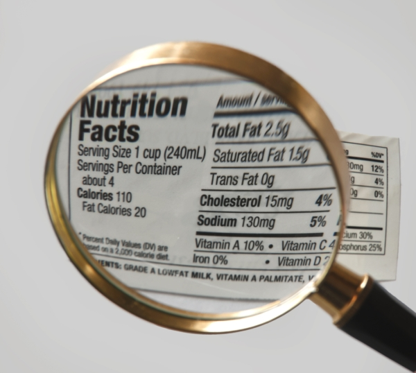 The study is the first of its kind to examine how your brain makes food choices when calorie info is presented.