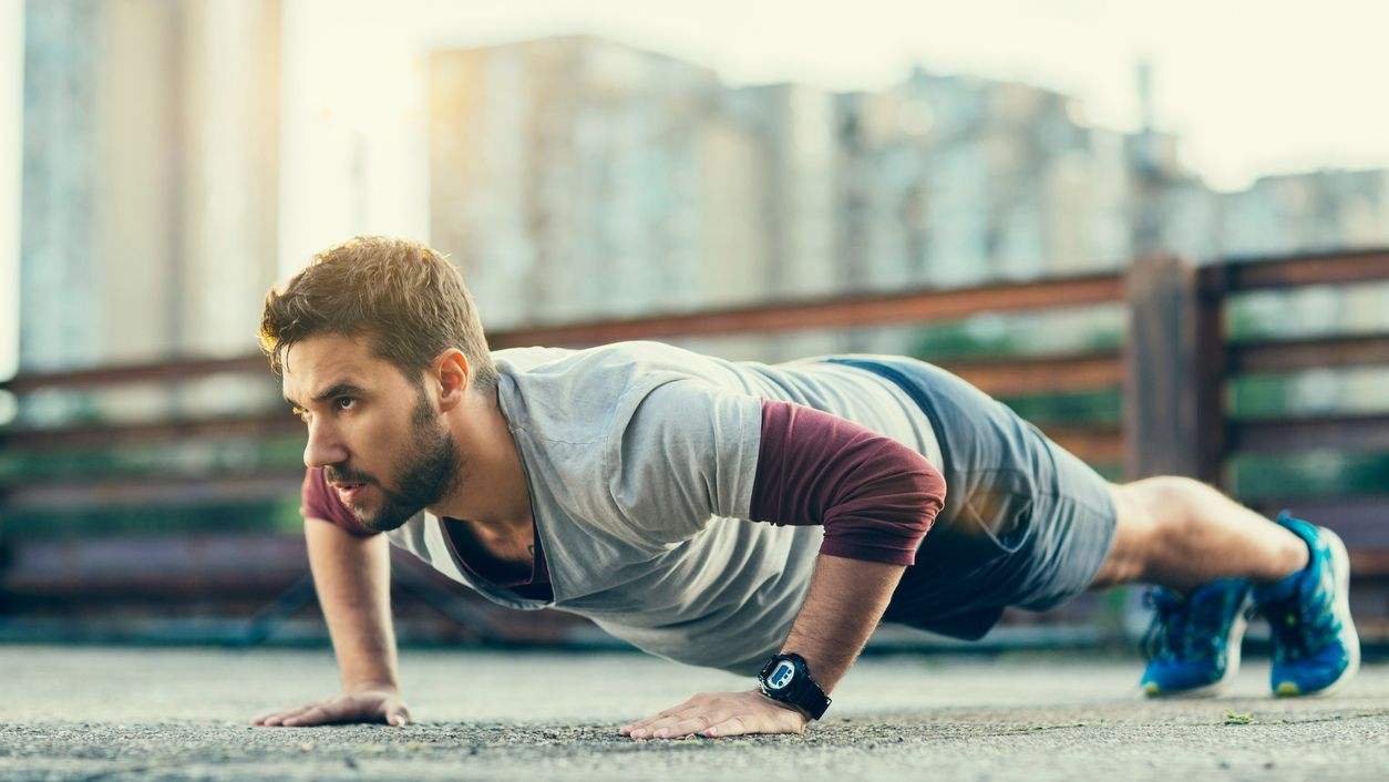 Push-Ups Can Keep Heart Disease Risk at Bay in Men: Study
