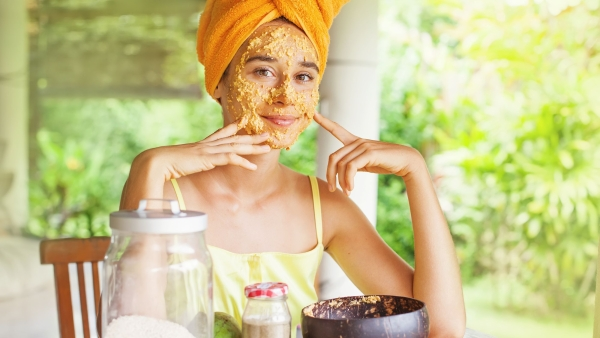 Ayurveda suggests a holistic approach for skin health.