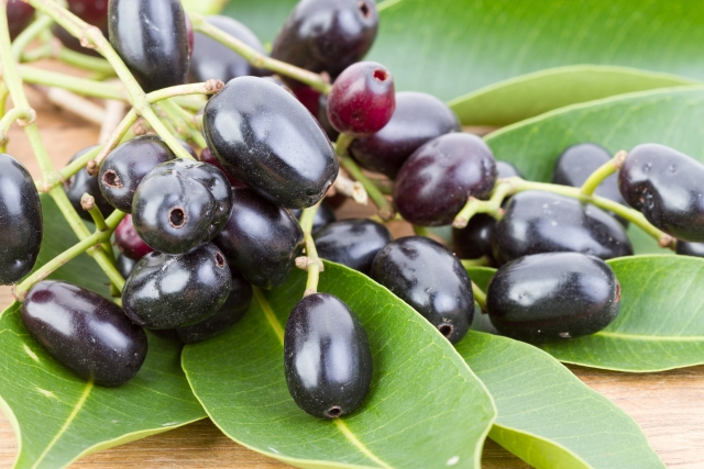 Jamun helps in lowering blood sugar and keeping your body cool.