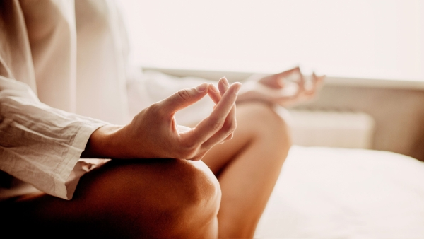 Meditation can help you reduce stress.
