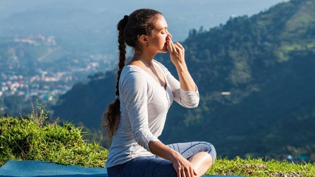 Focusing on your breathing is one of the basic techniques of meditation.