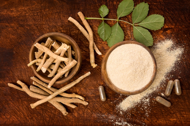 Adaptogenic herbs like Ashwagandha really help keep a lid on stress, and the collagen intact.