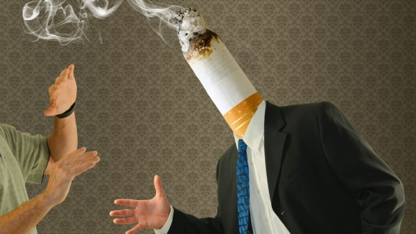 Passive smoking at home or work was linked with a 13 per cent increased risk of hypertension.