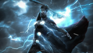 Thor in his usual avatar.