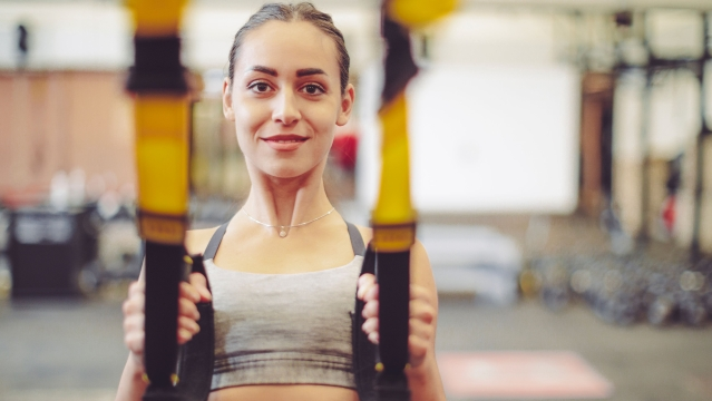 Always weight-test your TRX system before you embark on any exercise.