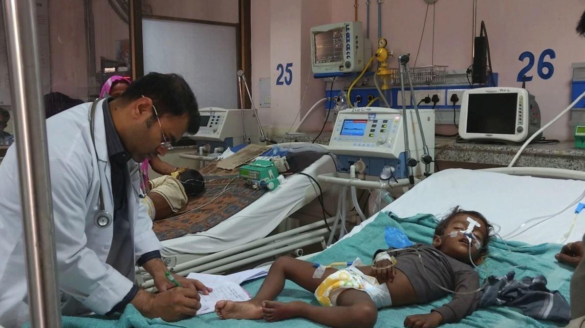 Encephalitis-Like Symptoms Kills Over 50 Kids in Bihar