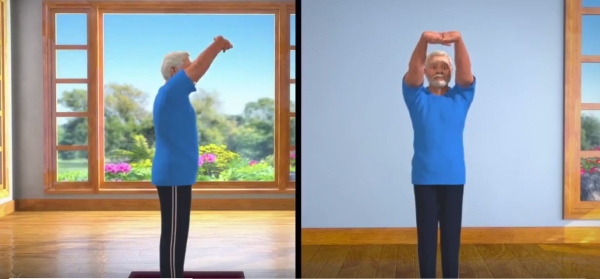 """Doing Tadasana properly would enable you to practice many other Asanas with ease,"" PM tweeted alongside the video."
